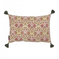 kuddfodral deoli curry med tofsar 33x50 cm Bungalow dk